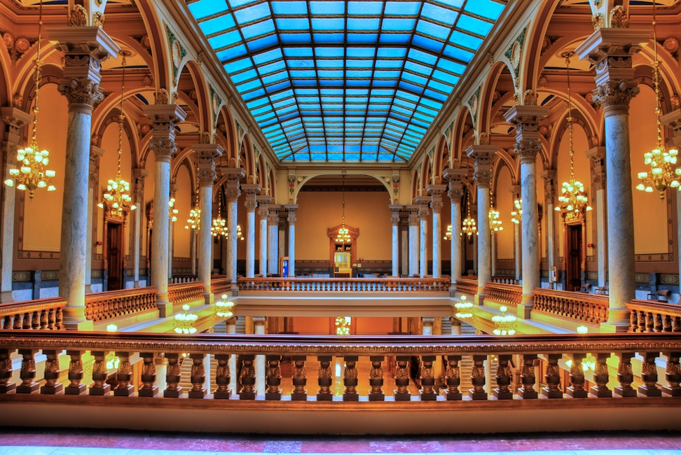 Indy State Capitol HDR 1 Version 2